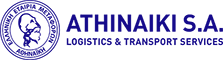 Αθηναϊκή Γενικές Μεταφορές Διανομές Αποθηκεύσεις Logistics Logo